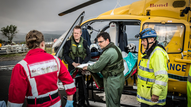 BASISC Scotland - GPs and RNs providing prehospital care before retrieval arrive